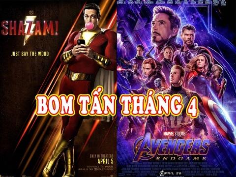 Top phim hay chiếu rạp tháng 4/2019