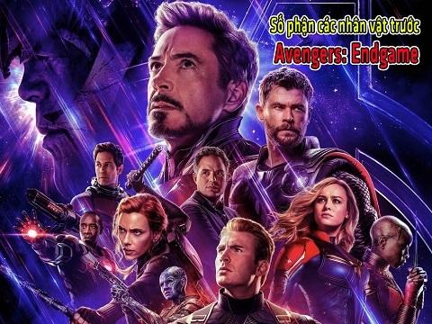 Số phận các nhân vật trước 'Avengers: Endgame'