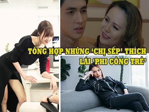 Muôn kiểu 'gái già lắm chiêu' thích 'phi công trẻ' của màn ảnh Việt