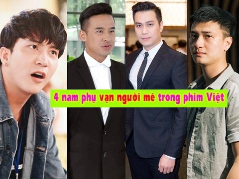 4 nam phụ 'vạn người mê' trong phim truyền hình Việt