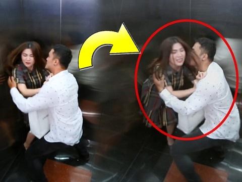Cưỡng hôn nhân viên nữ trong thang máy và cái kết