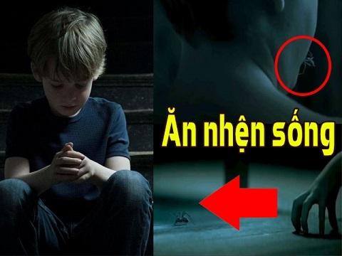 Trailer phim về 'cậu bé ăn nhện sống' gây ám ảnh nhất tuần qua