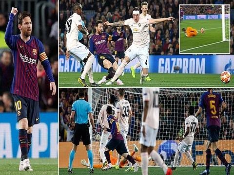 Barcelona 3-0 M.U (Lượt về tứ kết Champions League 2018/19)