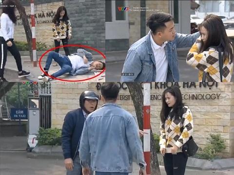 Hành hung bạn gái giữa phố, thanh niên bị đánh 'không trượt phát nào'