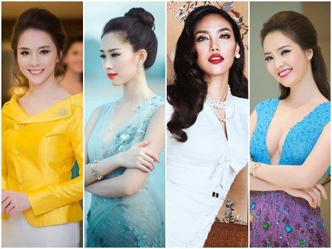 Hoa hậu Việt lấy chồng ''siêu giàu'': Kẻ viên mãn, người bị tố chiếm đoạt tài sản