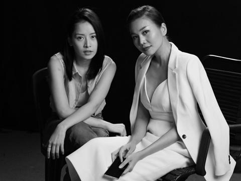 Thanh Hằng - Chi Pu 'bằng mặt không bằng lòng' trong phim mới