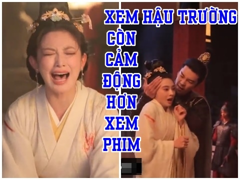Hậu trường 'Đông Cung': Diễn xuất của cặp đôi chính xuất thần đến 'rùng mình'