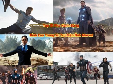 Top 10 cảnh đỉnh cao trong phim siêu anh hùng Marvel