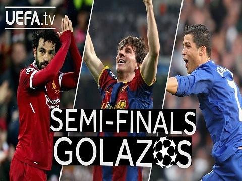 Những bàn thắng đẹp nhất lịch sử vòng bán kết Champions League