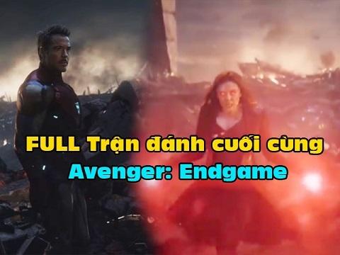HOT: Lộ clip full trận đại chiến cuối cùng của 'Avenger: Endgame'
