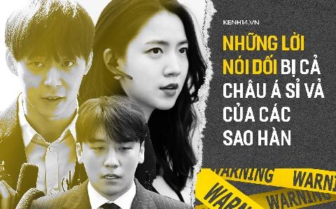 Những lời nói dối bị cả châu Á sỉ vả của sao Hàn