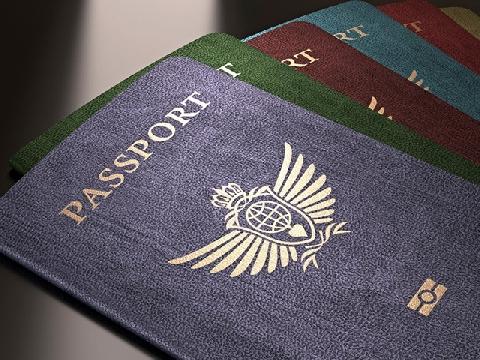 Giải mã màu sắc trên các tấm hộ chiếu