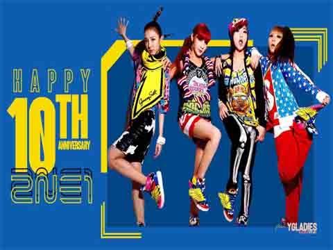 10 năm trước có một huyền thoại Kpop ra đời mang tên: 2NE1
