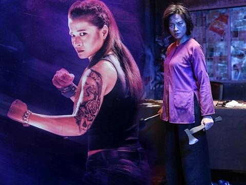 Ngô Thanh Vân 'tung đòn hiểm' hạ gục nữ cao thủ cơ bắp
