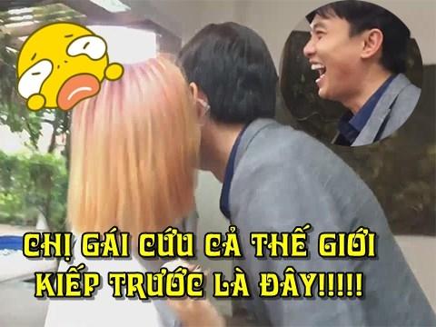Cô gái số hưởng nhất Việt Nam: Độc quyền hôn Quốc Trường!