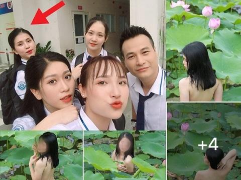 Bất ngờ với danh tính cô gái chụp ảnh nude tại hồ sen