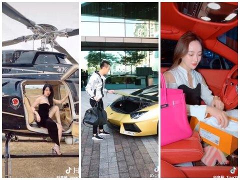 Cuộc sống xa hoa 'vàng dát đầy mình' của hội Rich kid Trung Quốc
