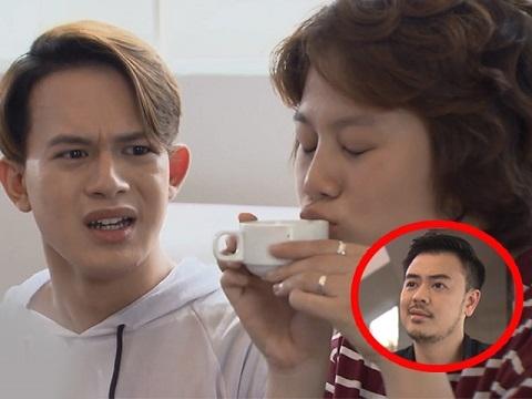 Sởn da gà với cảnh hôn và uống cốc cafe dở của Ánh Dương trong 'Về Nhà Đi Con'