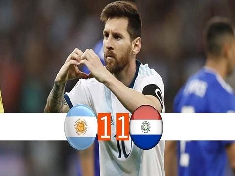 Argentina 1-1 Paraguay (Vòng bảng Copa America 2019)