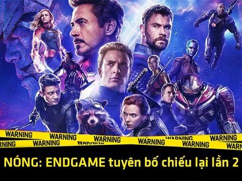 NÓNG: 'Avenger: Endgame' bổ sung phân cảnh mới, tiếp tục oanh tạc phòng vé
