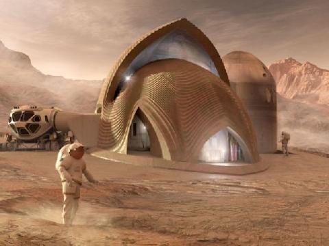 Căn nhà tương lai của loài người trên sao Hỏa