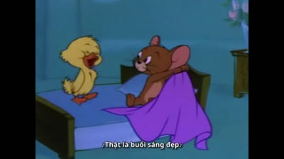 Xả stress cuối tuần cùng 'Tom Và Jerry: Vịt Biến Hình'