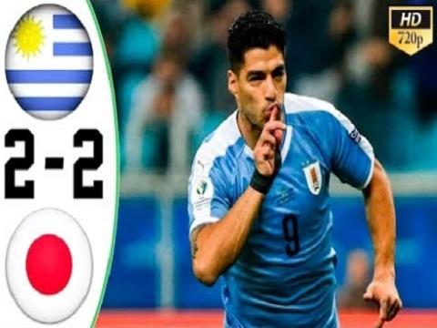 Uruguay 2-2 Nhật Bản (Vòng bảng Copa America 2019)