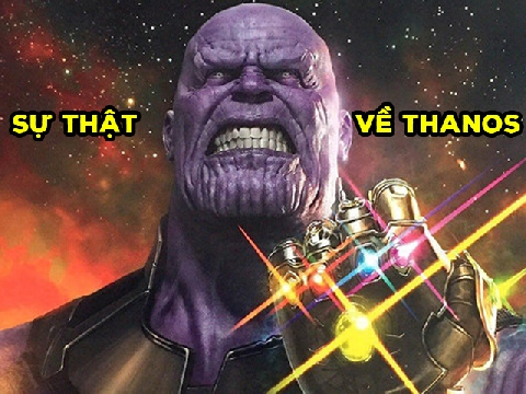 Top 10 sự thật thú vị về 'gã ác nhân' Thanos
