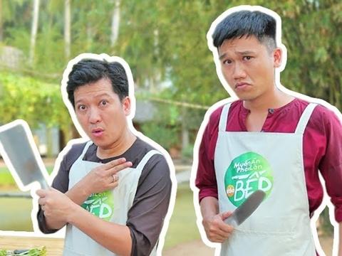 ''Mr Cần Trô'' Xuân Nghị trổ tài làm bếp cực đỉnh chẳng kém cạnh Giang Ca
