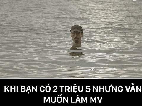 Đen Vâu trầm mình xuống biển trong MV mới ''hai triệu năm''