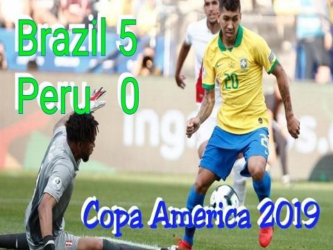 Brazil 5-0 Peru (Vòng bảng Copa America 2019)