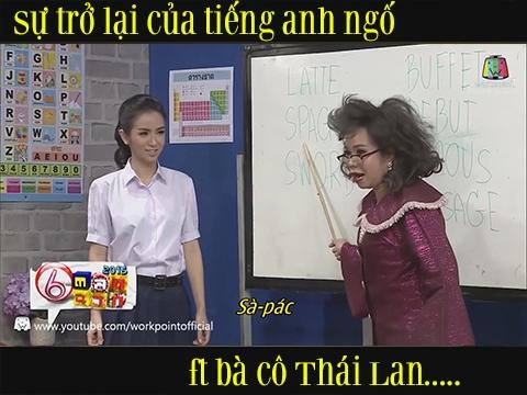 Khó đỡ với bà cô Thái Lan dạy tiếng Anh ngố...