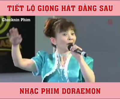 Tiết lộ giọng hát đằng sau nhạc phim 'Doraemon'