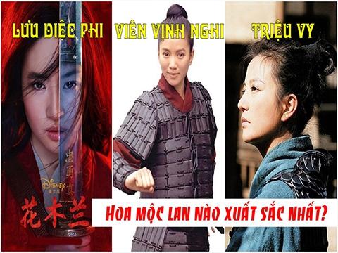 Liệu Hoa Mộc Lan của Lưu Diệc Phi có xuất sắc 'qua mặt' Triệu Vy và Viên Vịnh Nghi?