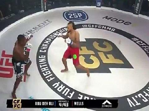 Võ sĩ MMA tung cú đấm móc 'búa tạ', khiến đối thủ đổ như chuối