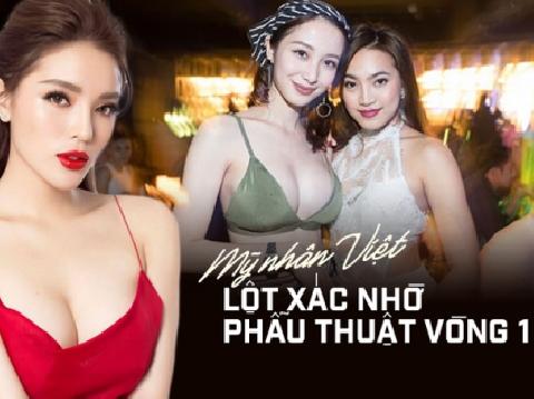 Những pha ''độ loa'' lên đời nhan sắc của mỹ nhân Việt
