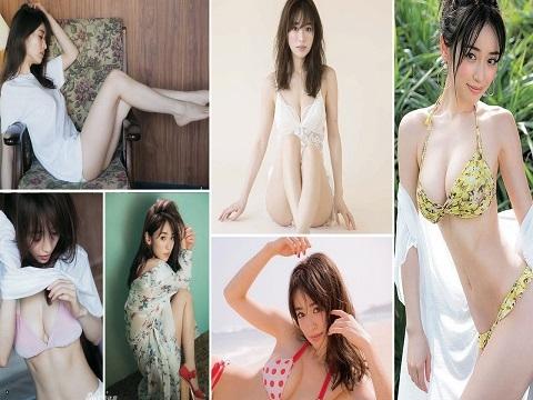 'Vòng 1' nóng bỏng của bạn gái tiền vệ nổi tiếng Nhật Bản