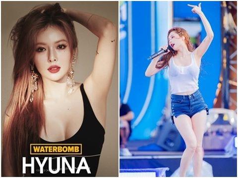 Những lần HyunA cởi áo, gặp sự cố vì trình diễn táo bạo