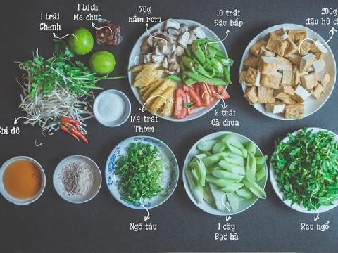 Cách làm canh chua nấm chay ngon