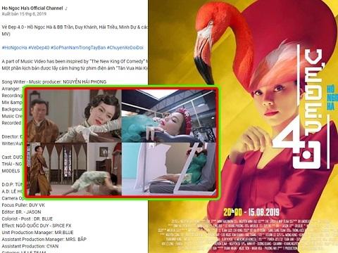 MV mới của Hồ Ngọc Hà dính nghi án 'đạo nhái' phim Hồng Kông?