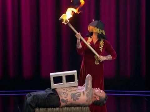 Trình diễn opera phong cách mạo hiểm khiến giám khảo rùng mình