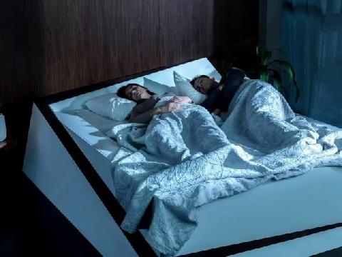 Giường ngủ tự cân bằng vị trí nằm