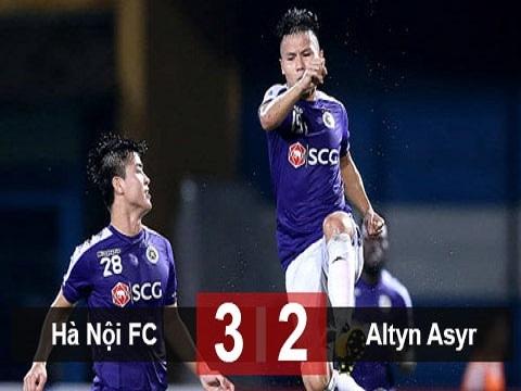 Hà Nội FC 3-2 Altyn Asyr FC (lượt đi bán kết Liên khu vực AFC Cup 2019)