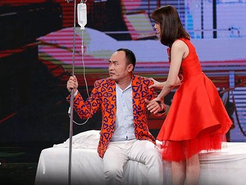 Cười banh họng khi Hari Won làm vợ Tiến Luật