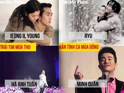 Những bản nhạc phim Hàn bất hủ đã được ca sĩ Vpop 'Việt hoá' thế nào?