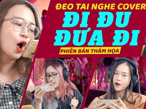 Thảm họa đeo tai nghe hát ''Đi Đu Đưa Đi'' - Bích Phương xin đừng nghe!