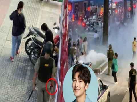 Phẫn nộ: an ninh dùng chích điện, xịt hơi cay để giải tán fan Ji Chang Wook
