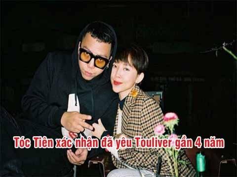 Tóc Tiên và Hoàng Touliver xác nhận đã yêu được 4 năm