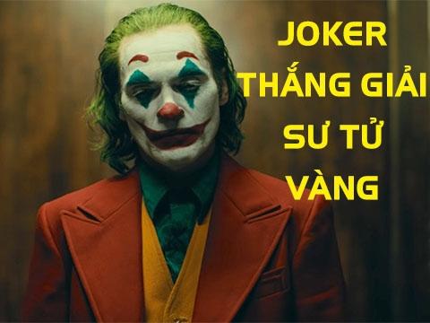 Phim về gã hề điên loạn 'Joker' thắng giải Sư Tử Vàng tại Vernice