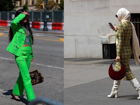 Những bộ cánh chất lừ trên đường phố New York